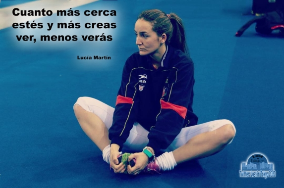 Lucía Martín - frase