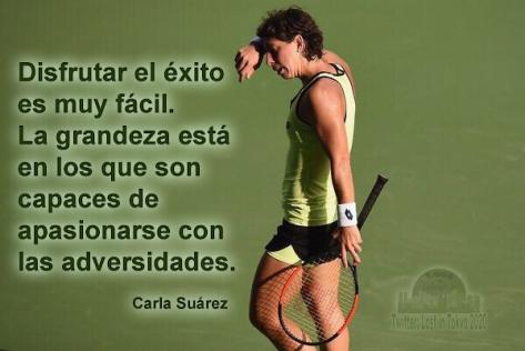 Carla Suárez - frase