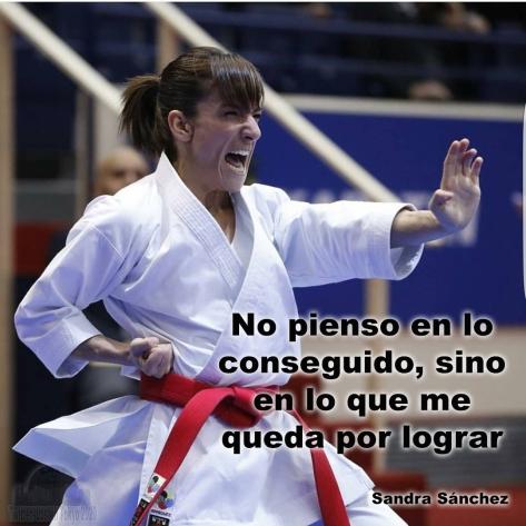 GANADOR - Sandra Sánchez - frase