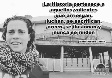 María Ribera García - frase