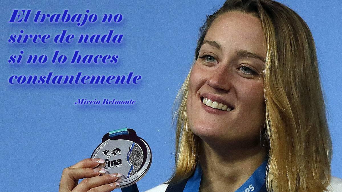 Mireia Belmonte - frase