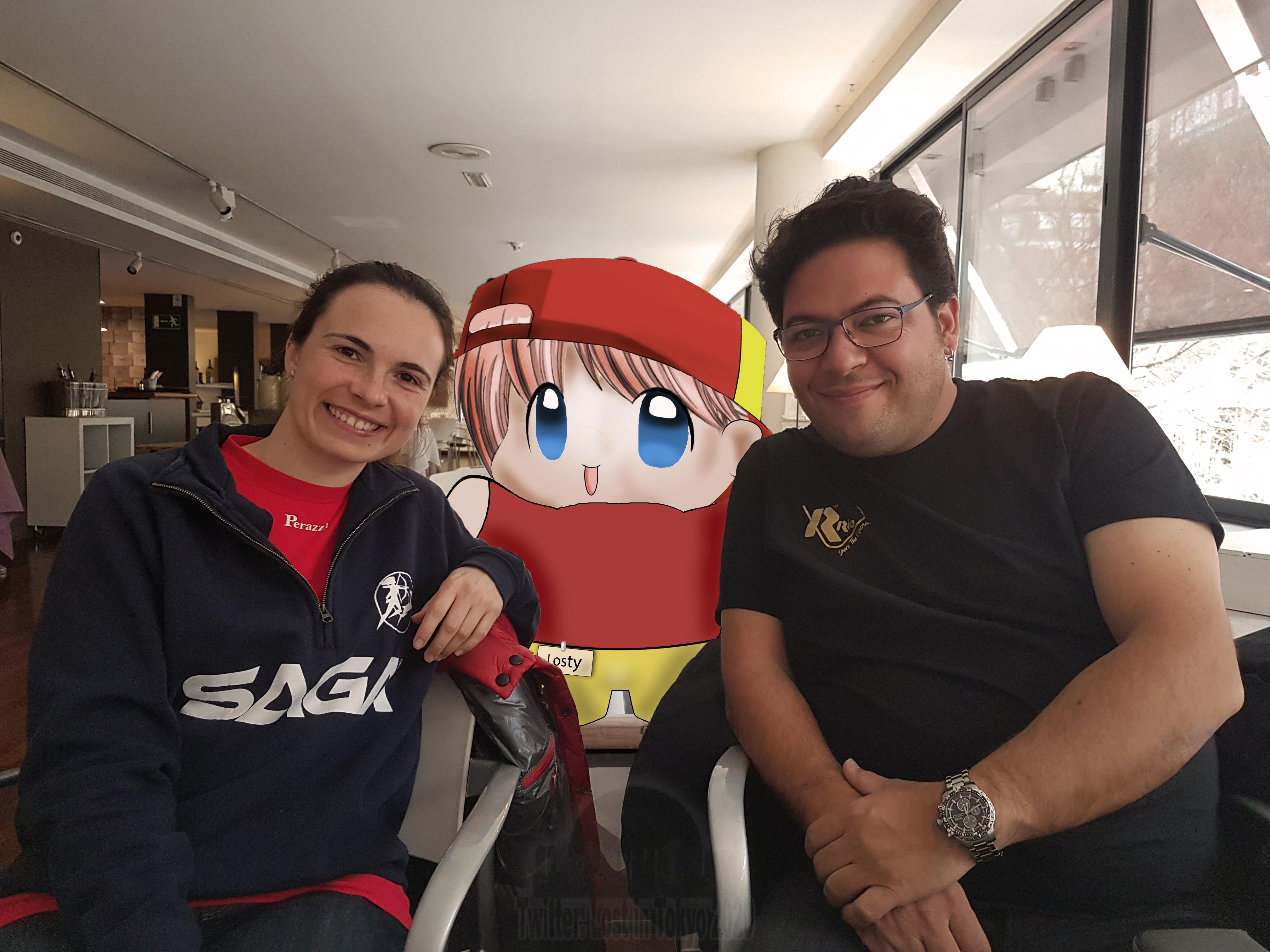 Losty - Alberto Fernández y Bea Martínez